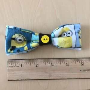 Medium Minions Hair Bow